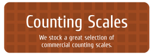 Counting Scales - We stock a great selection of commercial counting scales.