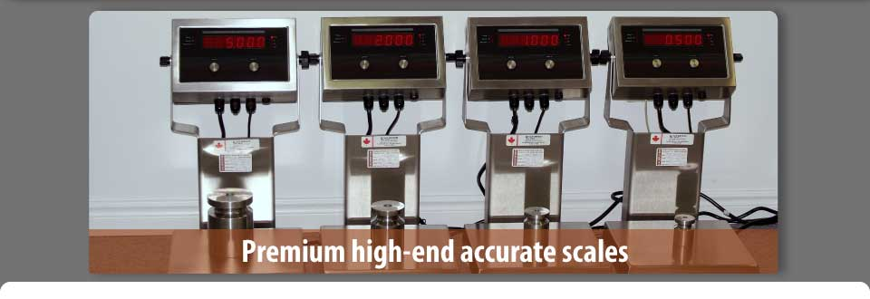 digital scales - premium high end accurate scales