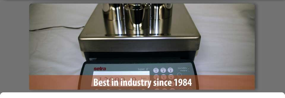 weighing scale - best in the industry since 1984